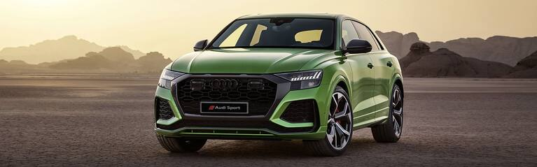 Audi RS Q8 2020 in green